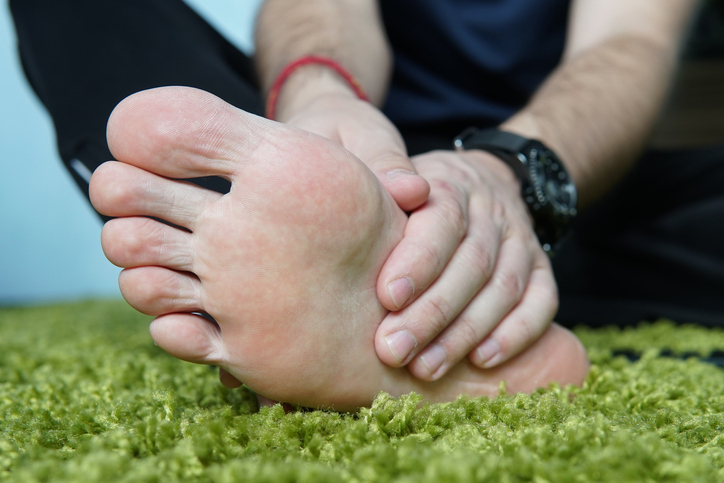 Men Foot Chafing & Blisters - Body Glide